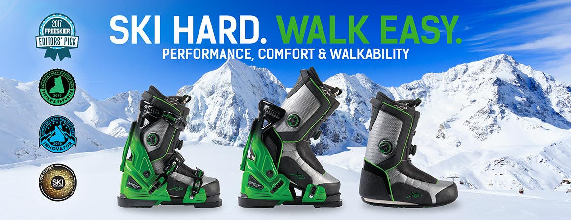 Apex Ski Boots marketing