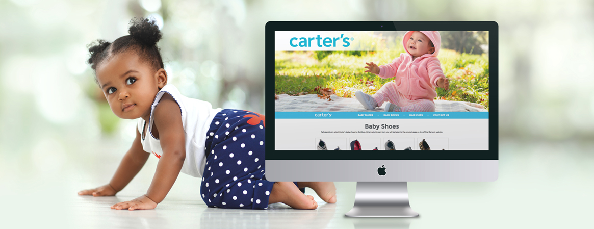 Carter's and Goldbug digital marketing